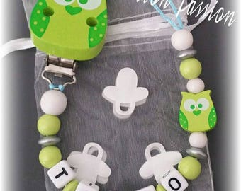 Personalized pacifier