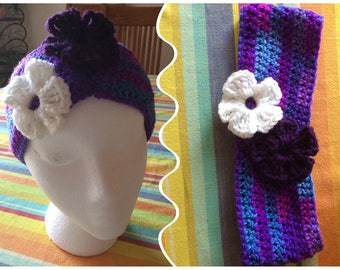 Crochet headbands / earwarms