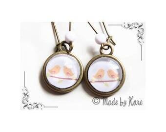 Pair Vintage earrings