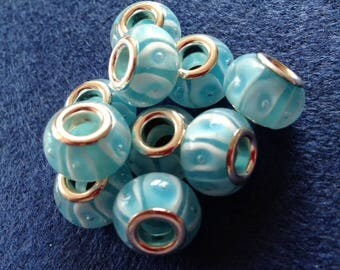 handmade Lampwork European bead 1 x