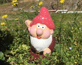 Cute Gnome Waving