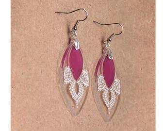 Earrings - Calypso - purple