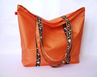 Tote bag - Beach bag orange