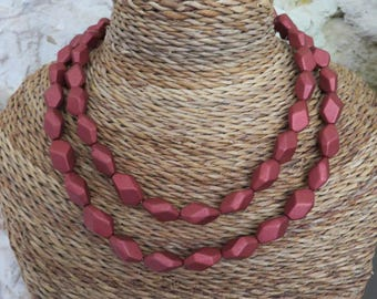 """Necklace double row """"collection Spring"""""""