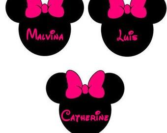 Brand instead black & pink minnie