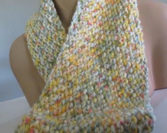 Handmade Knit Infinity Cowl
