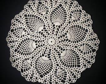 crochet doily (model 1) 33 cm choice of color