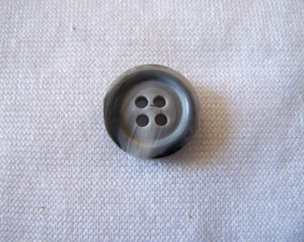 Button making, marbled gray appearance, diameter 15 mm (Bo 200245)