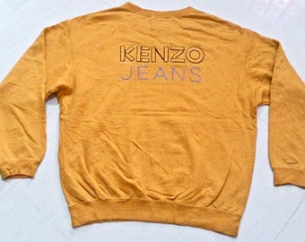Vintage Kenzo Jeans Sweatshirts