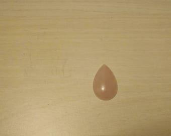 Rose quartz Cabochon.