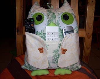 An OWL fabric patchwork range remotes reserved