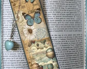 "Bookmarks laminated ""Imagine"" cheap gift idea"