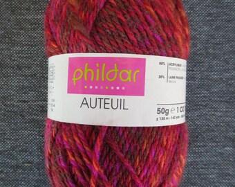 500g of Phildar Auteuil Brazier (eq 10 balls) - same