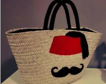 Castro and mustache bassinet