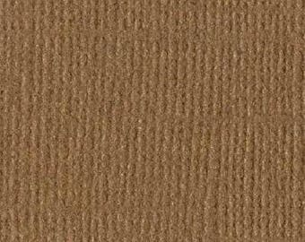 Bazzill textured canvas 30 x 30 cm - Ref 11110975 Pinecone scrapbooking paper