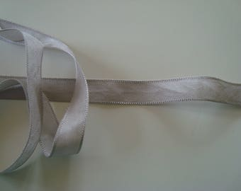 2 m extra light brown Ribbon 15 mm wide