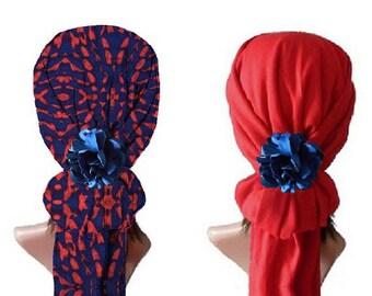"REVERSIBLE scarf ""Anaïs"""