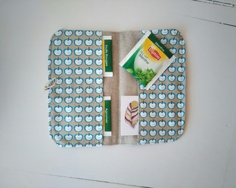 The travel pouch * tea bags storage