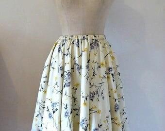 MIDI skirt - Springtime