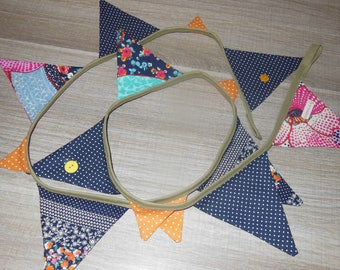 "cotton fabric Bunting ""Burdett 15"""