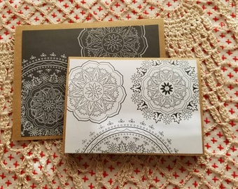 Set of 2 note cards