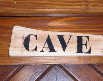 "Panel wood ""cave"""