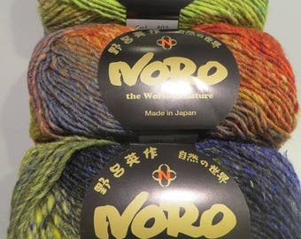 Wool Silk Garden of NORO, colour No. 403