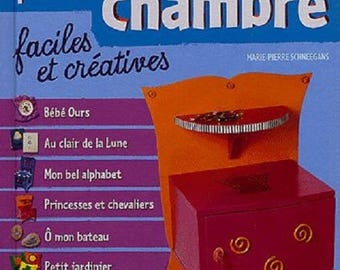 Book 80 DECORATIONS for your (child) room / Schneegans / father Beaver Flammarion