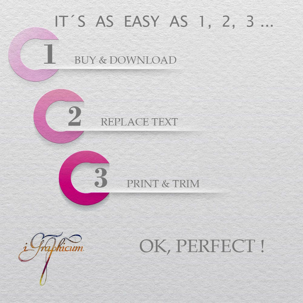Napkin Wrapper Place Card Template, Wedding Napkin Ring Printable ...