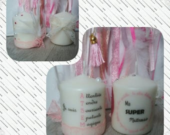 Mini Candle, teacher gifts or home