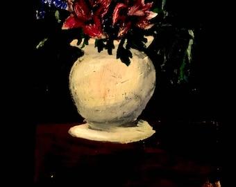 Flowerpot painting