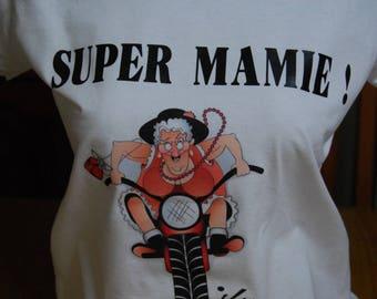 t-shirt SUPER Grandma