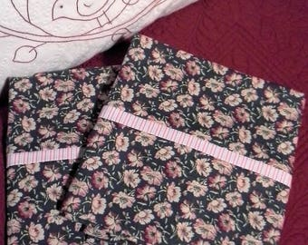 Standard pillowcases, floral, cottage, country, set