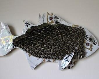 Modelo Colorado Wiper Bottle Cap Fish