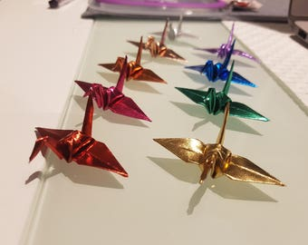Wedding Decoration Origami 1,000 Metallic Cranes