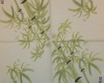 VERY beautiful bamboo lunch size paper towel 1 002