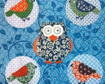 Napkin COLLECTION the owls and the owls 181 size 33 X 33