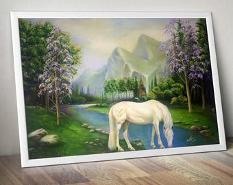 Painting Reproduction: The Horse | instant download