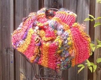 Snood elegant woman wool
