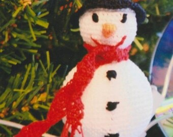 Snowman hand made crochet and unbreakable