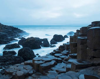 Dawn at the Giant's Causeway