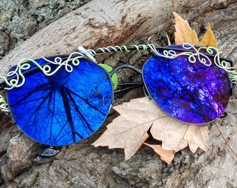 Midnight Ivy Spectacles | Sunglasses | Wire Wrap