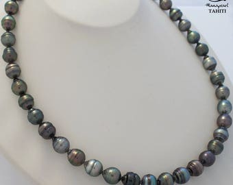 MPT1778/EPP, Tahitian Pearl Necklace