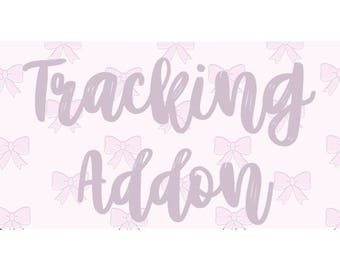TRACKING ADD ON
