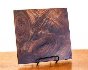 Square Walnut Serving Platter