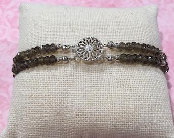 Gaia's Grace Jewelry Smokey Quartz Bracelet