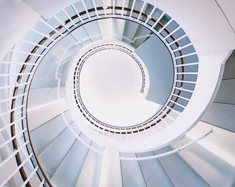Spiral Staircase Digital Print