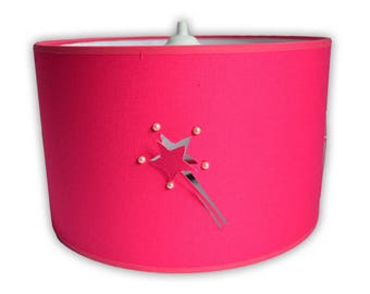 Pink baguettes Lampshade magic relief