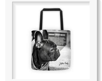 Free Shipping : Frenchie Tote Bag