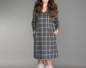 jersey winter dress